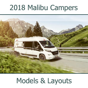2018 Malibu Camper Vans Models and Layouts