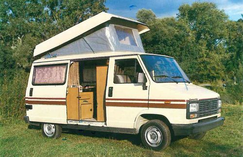 661247ac0fc16f Concorde Camper Van on Peugeot Chassis