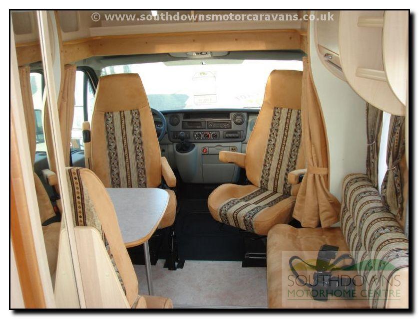 Southdowns | 2007 Fleurette Migrateur 67 LD Motorhome 11/16 Photo ...