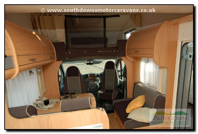 Southdowns New 2008 Burstner Levanto A576 Motorhome 6 15