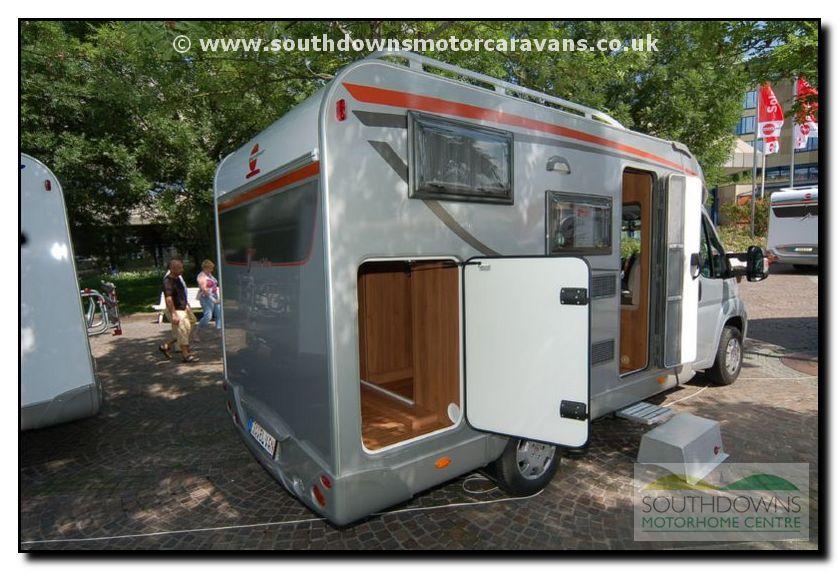 Southdowns New 2008 Burstner Travel Van T570 Motorhome 23 30 Motorhome Gallery