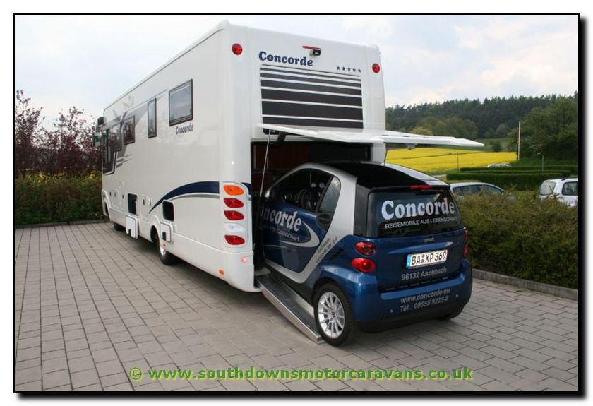 Southdowns Concorde Charisma 890g Smart Garage Motorhome