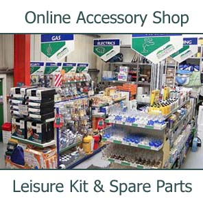 Online Accessories Shop at Southdowns Motorhome Centre