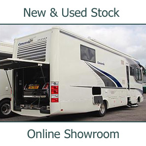 Online Showroom at Southdowns Motorhome Centre