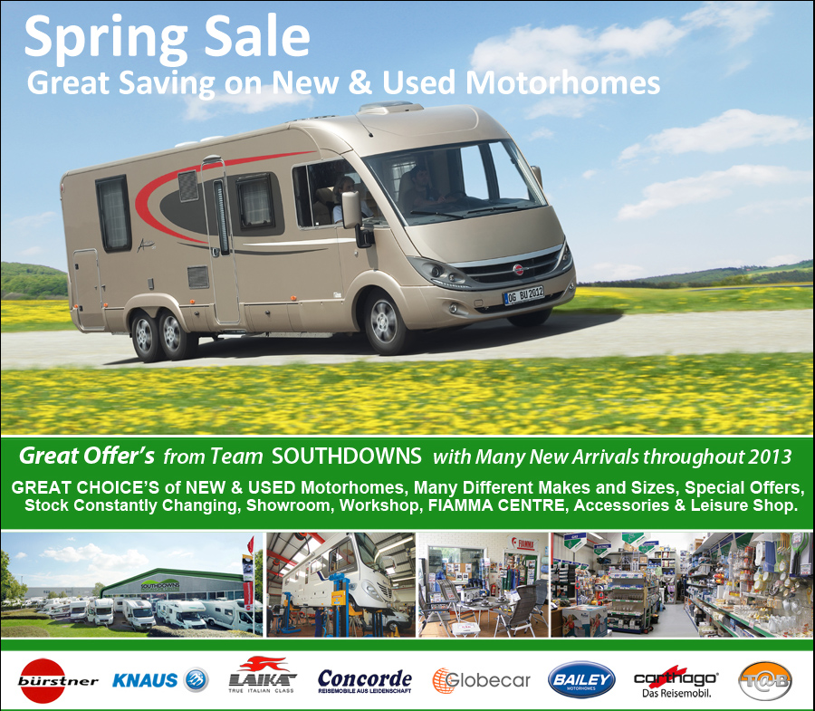 See details of the our Special Offers on Motorhomes