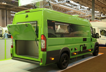 Motorhome with garage house plan 2017 for Motorhome with garage
