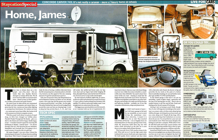 Southdowns Motorhome News James Martin Tv Chef Writes