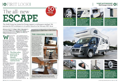 Practical Motorhome Swift Escape Motorhome Range Review