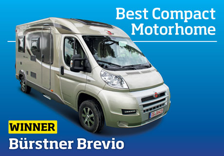 Southdowns Motorhome News Burstner Brevio Best Compact