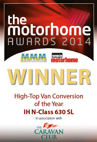 2014 MMM Award Best High Top Van Conversion IH N-Class 630SL