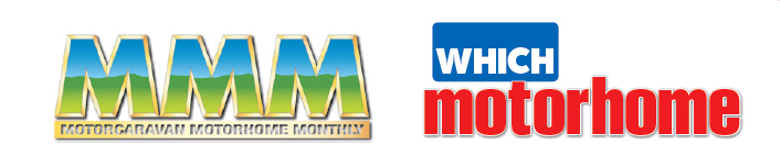 MMM Magazine and Which Motorhome Magazine Logos