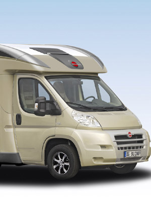 2010 Burstner Ixeo Plus Motorhome Cab photo