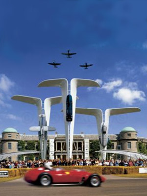 Goodwood Festival of Speed Entrance Display
