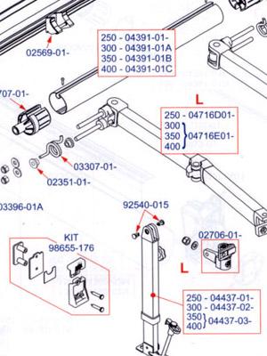 Southdowns Fiamma Accessories Spare Parts
