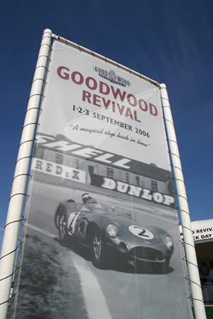 Goodwood Revival Flag