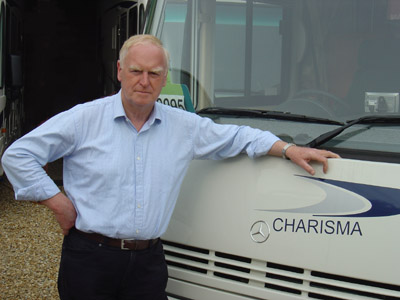 Michael Ayling, Founder of Southdowns Motorcaravans