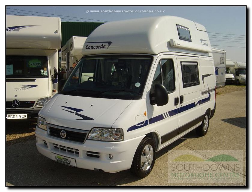Southdowns New Concorde Compact Motorhome N0642 2 74
