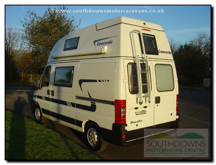 Southdowns New Concorde Compact Motorhome N0643 9 42