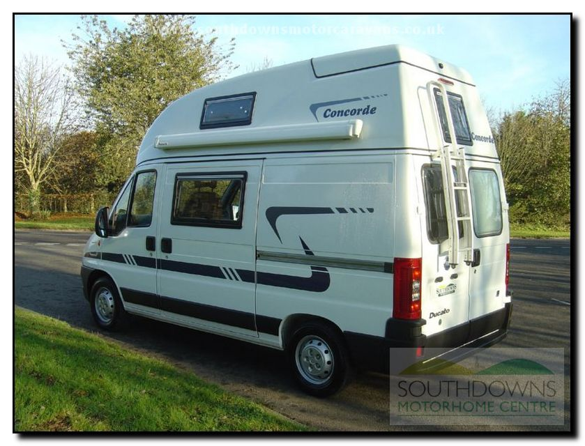 Southdowns New Concorde Compact Motorhome N0643 26 42