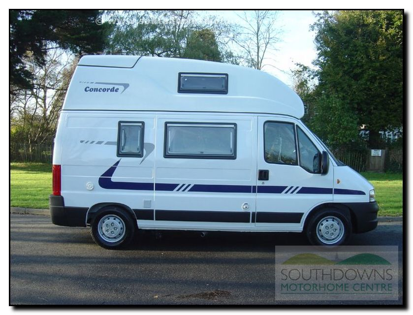 Southdowns New Concorde Compact Motorhome N0643 42 42