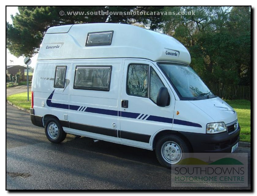 Southdowns new concorde compact motorhome n0644 4 19 for Used small motor homes