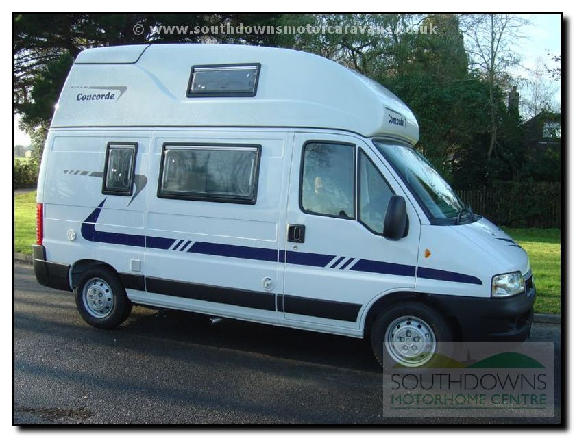 Southdowns New Concorde Compact Motorhome N0644 5 19
