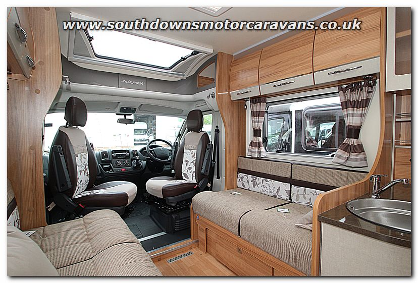 New Southdowns | New 2015 Bailey Approach Autograph 740 Low-Profile Motorhome N100252 Photo Gallery