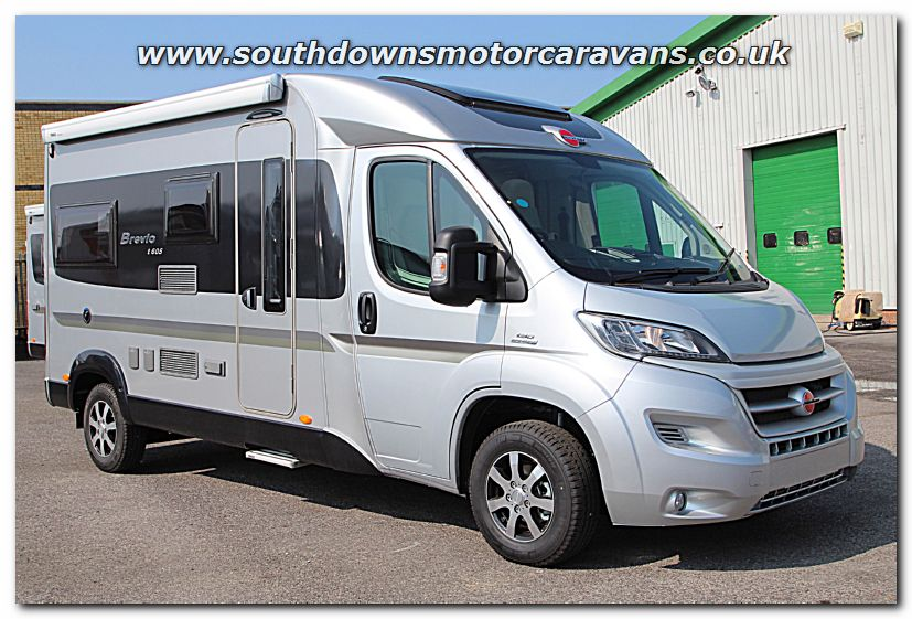 Click To Enlarge The Picture Of New 2015 Burstner Brevio T605 Van Conversion Motorhome N100258 1