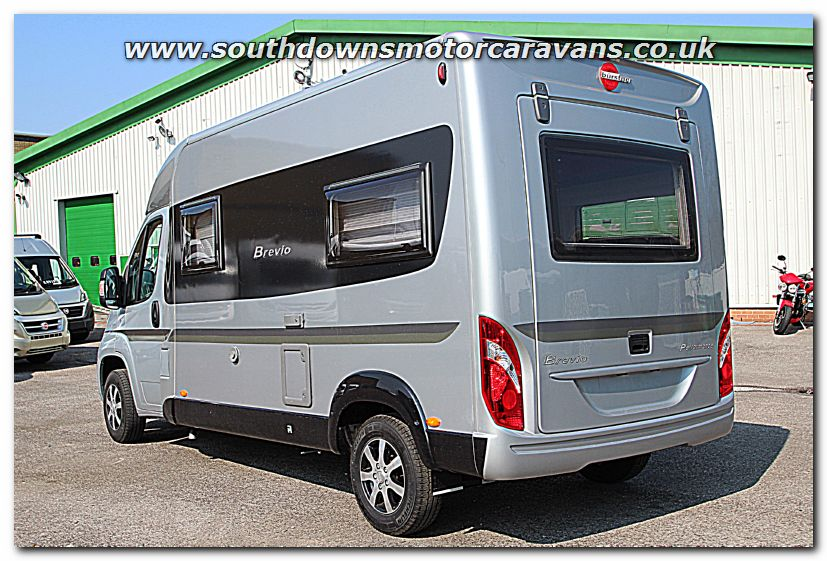 Click To Enlarge The Picture Of New 2015 Burstner Brevio T605 Van Conversion Motorhome N100258 13