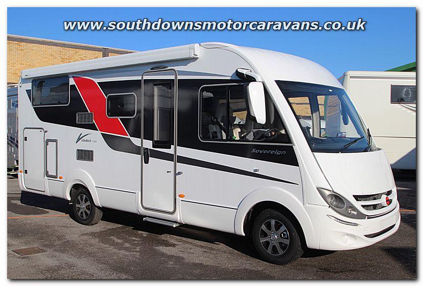 Southdowns New 2015 Burstner Viseo I 690 G Sovereign Edition