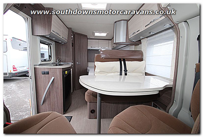 Southdowns New 2015 Burstner Nexxo Time T569 Fiat 130