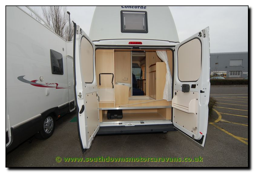 Southdowns New Concorde Compact Motorhome N1652 40 45