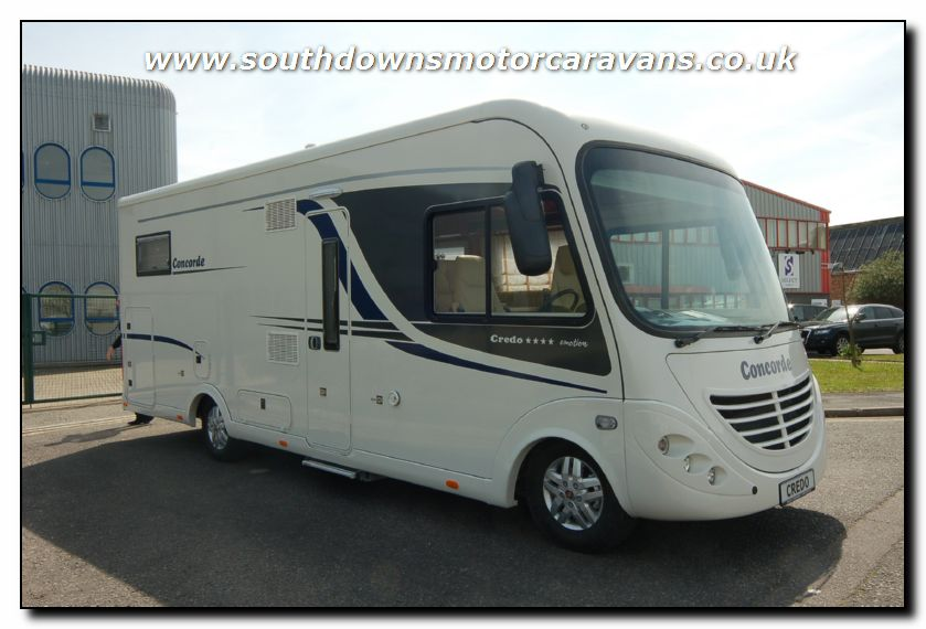Southdowns New Concorde Credo Emotion 763l Motorhome