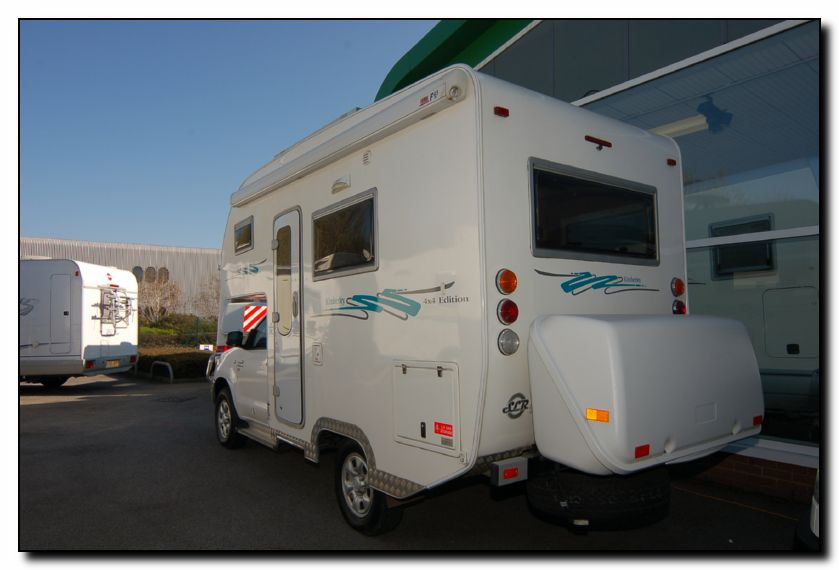Popular Fiat Ducato 4X4 Expedition Camper Show Van Makes Its UK Debut At The