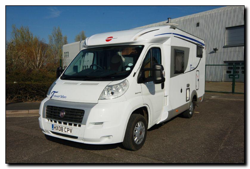 Southdowns Used Burstner Travel Van T 570 G Motorhome