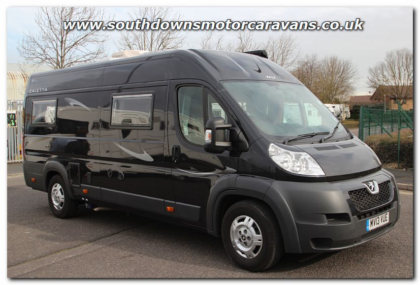 Click To Enlarge The Picture Of Used Nu Venture Caletta Peugeot 22 HDI Van Conversion Motorhome