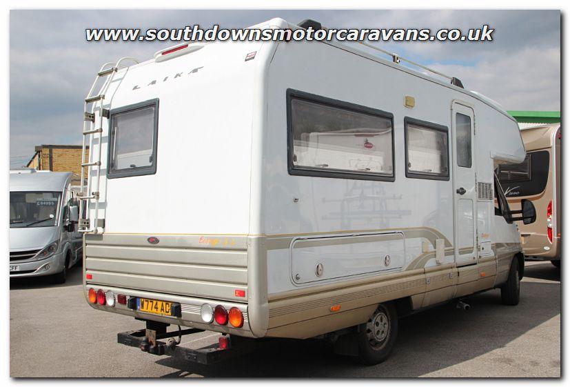 Southdowns used laika ecovip 3l 5 berth coachbuilt for Laika motorhome ecovip