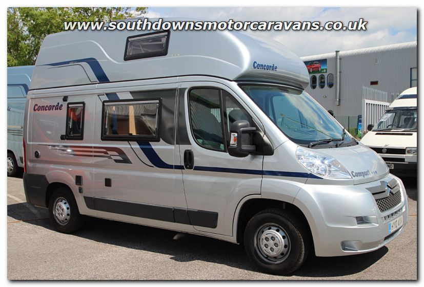 Southdowns used globecar concorde compact van conversion for Used small motor homes