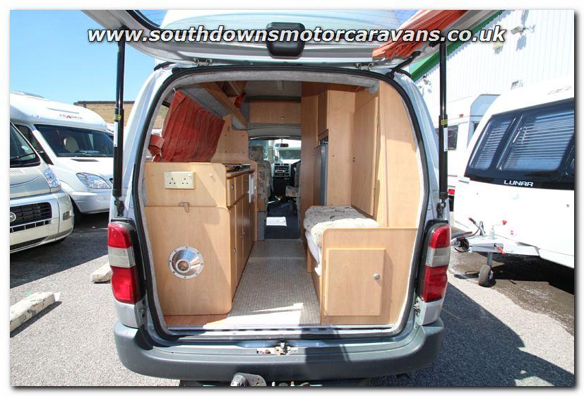 Click To Enlarge The Picture Of Used Devon Rio Grande 25L Van Conversion Motorhome U200562