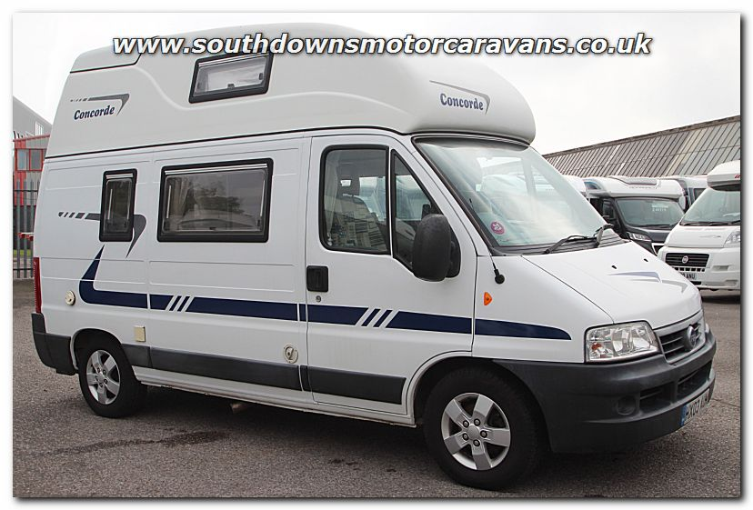 Southdowns used concorde compact van conversion for Used small motor homes