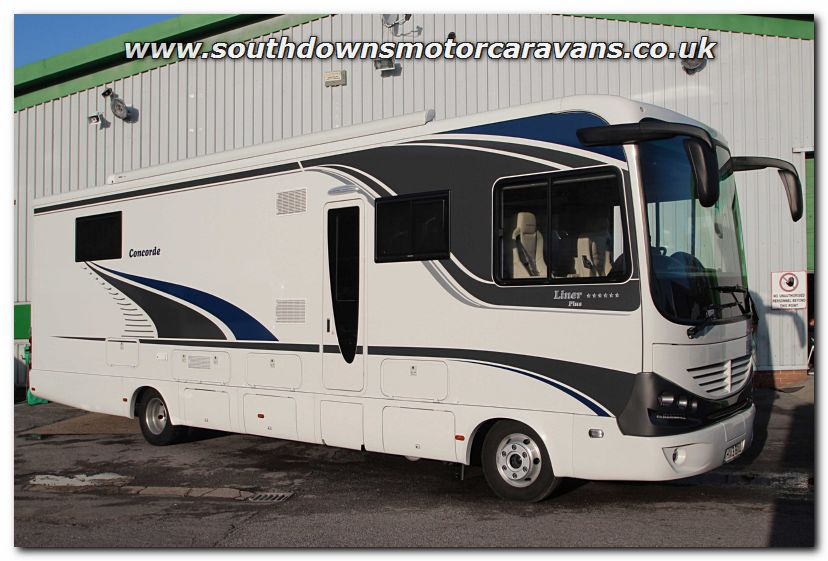Southdowns used lhd concorde liner plus 1060 gmax man for Garage fiat 94