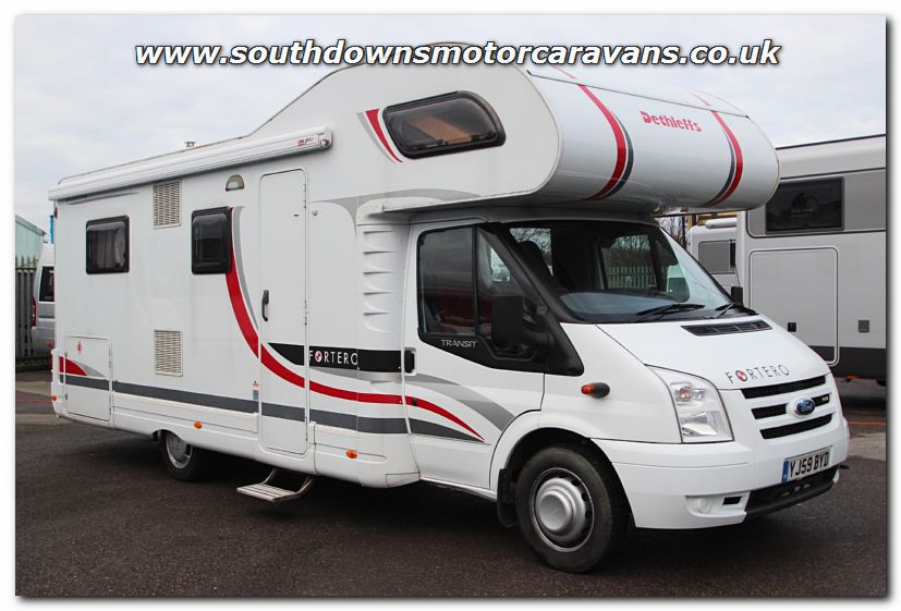 Southdowns Used Dethleffs Fortero Ford Transit Tdci