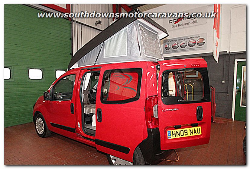 Click To Enlarge The Picture Of Used Romahome R10 Solo Citroen 14L HDi Van Conversion