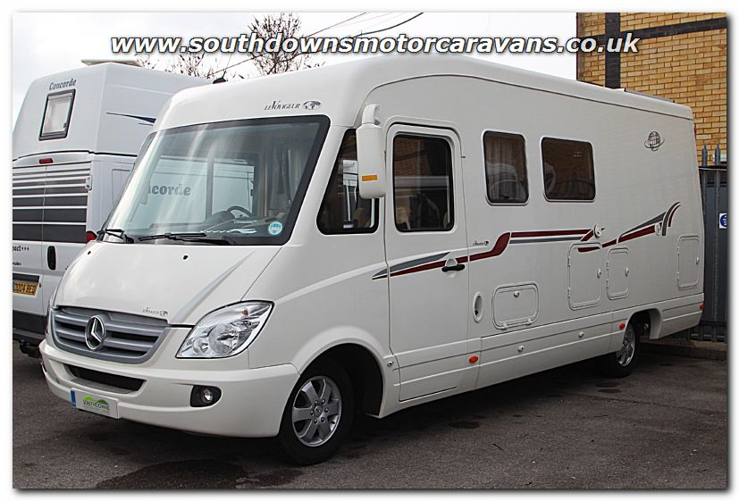 Southdowns used le voyageur 755 sx mercedes benz for Mercedes benz sprinter luxury motorhome rv