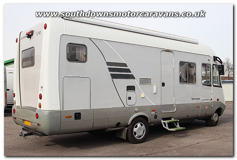 Southdowns used lhd hymer s740 mercedes benz 2 7l for Mercedes benz motorhomes for sale
