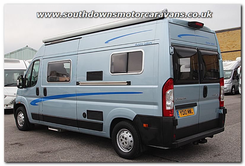 Southdowns used wildax aurora leisure citroen relay van for Used small motor homes