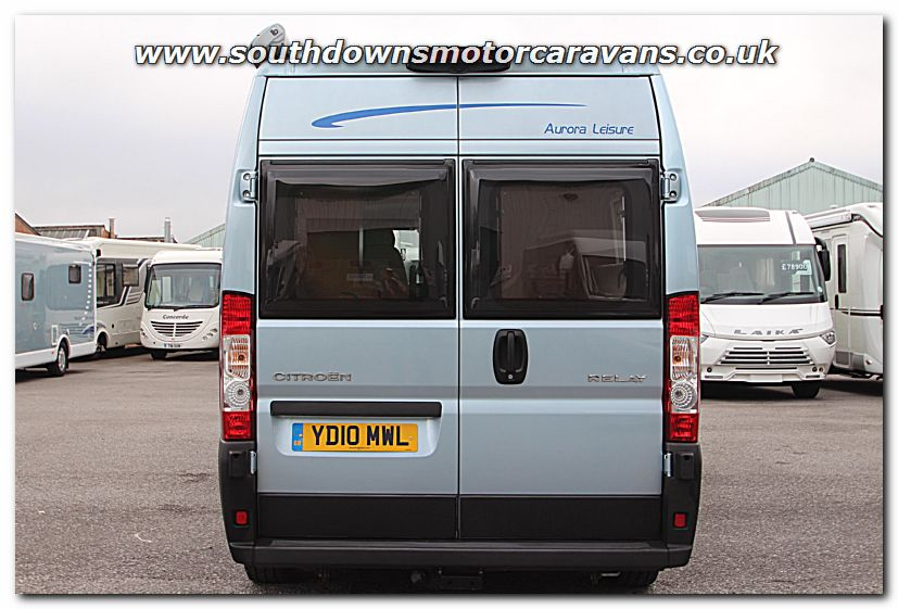 Click To Enlarge The Picture Of Used WildAx Aurora Leisure Citroen Relay Van Conversion Motorhome U200902