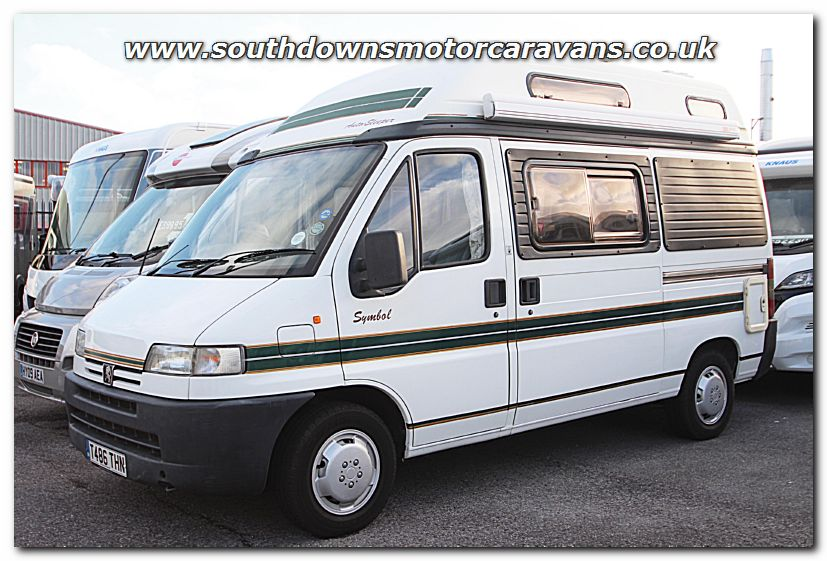 Click To Enlarge The Picture Of Used Auto Sleeper Symbol Peugeot 20L Van Conversion