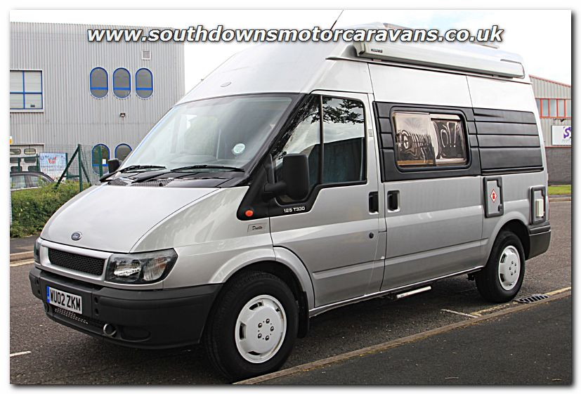 Ford Transit Conversion Van >> Southdowns | Used Auto-Sleeper Duetto Ford Transit T330 2.4L 125 Van Conversion Motorhome ...