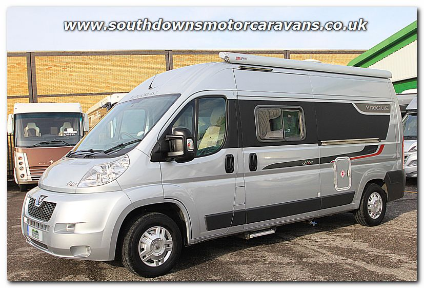 Click To Enlarge The Picture Of Used Autocruise Alto Peugeot 22L 120 Van Conversion Motorhome